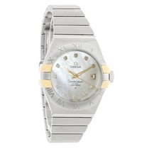 Omega Constellation Ladies Diamond Automatic Watch 123.20.31.2...