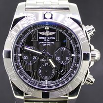 Breitling Chronomat 44 Black Dial From 2014 Full Set