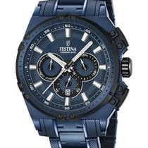 Festina Chronobike 'Special Edition' PVD Coated Watch with F16973