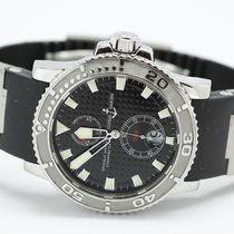 Ulysse Nardin Marine Diver 263-33 Black Dial With Rubber & Ti...