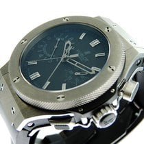 Hublot Big Bang 44 mm pre-owned 44.5mm Chronograph Jumping hour Rubber