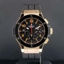 Hublot Big Bang 44 mm pre-owned 44mm Black Chronograph Date