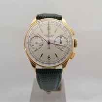 Breitling Geneve chrono or 18kt.