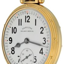 Hamilton Railroad Yellow gold White Arabic numerals United States of America, Texas, Dallas