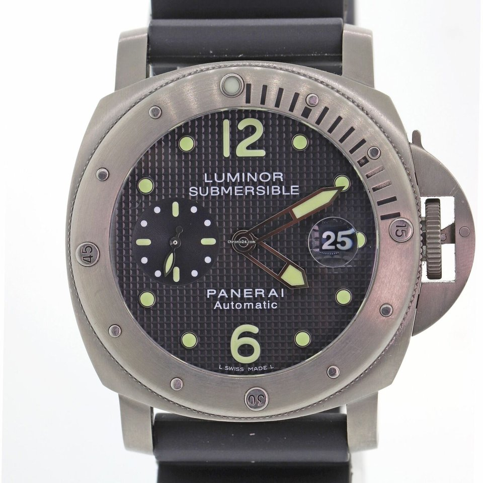 e3daa38ce84 Panerai Luminor Submersible - all prices for Panerai Luminor Submersible  watches on Chrono24