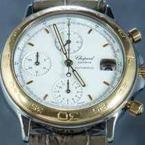 Chopard Or/Acier 38mm Remontage automatique L.U.C occasion