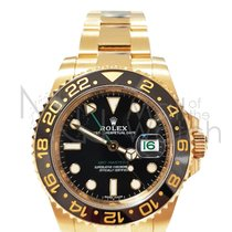 Rolex 116718LN Geelgoud 2007 GMT-Master II 40mm tweedehands