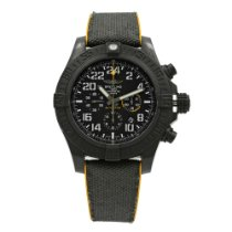 Breitling Plastic Automatic Black Arabic numerals 50mm pre-owned Avenger Hurricane