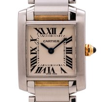Cartier Tank Française 20mm White Roman numerals United States of America, California, West Hollywood