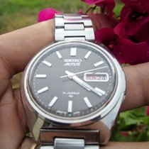 Seiko 5 ACTUS 7019-8010 SILVER 21 JEWELS 1970 pre-owned
