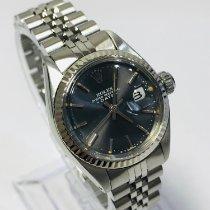 Rolex Oyster Perpetual Lady Date Stahl 26mm Grau Keine Ziffern Deutschland, Hannover