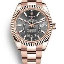 Rolex Sky-Dweller Rose gold 42mm Grey Roman numerals United States of America, New York, New York