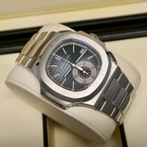 Patek Philippe pre-owned Automatic 40.5mm Blue Sapphire Glass 10 ATM