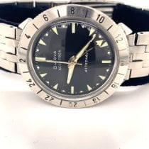 Bulova Steel 38mm Bulova Accutron Astronaut 214HN M9 1969 GMT Black Dial pre-owned United States of America, New Jersey, Little Silver