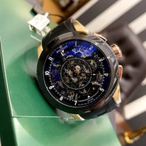 Perrelet Skeleton Chrono Ceramic 43.5mm Black