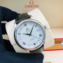 Omega De Ville Prestige Staal 39.5mm Zilver