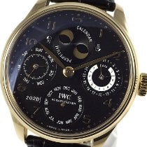 IWC IW502119 Rose gold 2007 Portuguese Perpetual Calendar 44,2mm pre-owned
