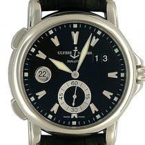 Ulysse Nardin Dual Time neu Automatik Chronograph Uhr mit Original-Box und Original-Papieren 3343-126LE/93
