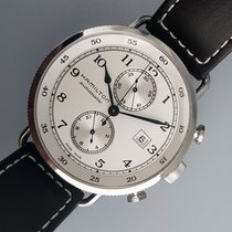 Hamilton Khaki Navy Pioneer new Automatic Chronograph Watch with original box and original papers H77706553