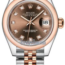 Rolex Lady-Datejust Goud/Staal 28mm
