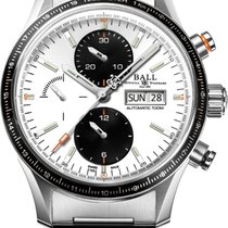 Ball Fireman Storm Chaser Steel 42mm Silver