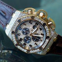 Audemars Piguet Royal Oak Offshore Chronograph Diamonds -...