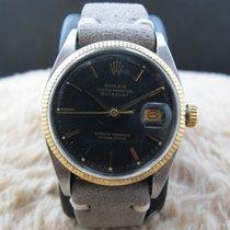 Rolex DATEJUST 6605 2-Tone Original Black Dial