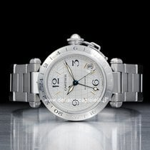 Cartier Pasha C Time Zone  Watch  W31029M7 / 2377