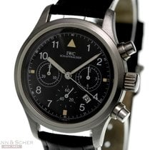 IWC 3741 Steel Pilot Chronograph 36mm