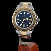 Rolex Yacht-Master 40 Gold/Steel 40mm Blue No numerals