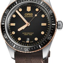 Oris Divers Sixty Five new Automatic Watch with original box