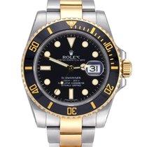 Rolex Submariner Date Gold/Steel 40mm Black No numerals United Kingdom, Manchester