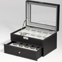 Rothenschild German Luxurious Double Box for 20 Watches - New