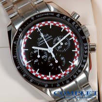 "Omega N.O.S  Red&White Racing Speedmaster Pro Moon""TinTin Dial"""