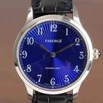 Fabergé 40mm Automatisch tweedehands Blauw