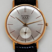 Nivrel Yellow gold 34mm Manual winding 310624 new