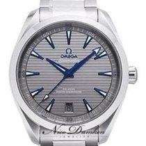 Omega Seamaster Aqua Terra Steel 41mm Grey No numerals