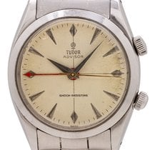 Tudor Steel Manual winding 35mm pre-owned Heritage Advisor