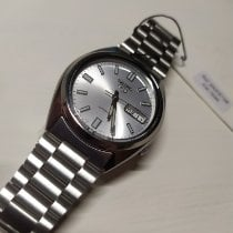 Seiko 5 Steel 38mm Silver