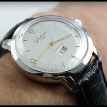 Glashütte Original Sixties Panorama Date 2-39-47-01-02-04 Glashutte Vintage Panorama Cassa Acciaio new