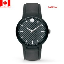 Movado Men's 0606849 Analog Display Swiss Quartz Black Watch