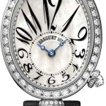 Breguet Reine De Naples 8928 Black Strap Diamonds 8928BB5W844...