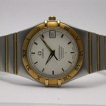 Omega 12023000 Chronometer Constellation Automatic Gold Steel...