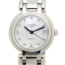 Longines Prima Luna Stainless Steel White Automatic L8.111.4.87.6