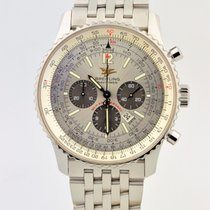 Breitling Navitimer 50th Anniversary Stainless Steel Silver...