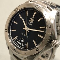 TAG Heuer Link Calibre 5 Staal 42mm Zwart