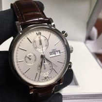 IWC Portofino Chronograph Steel Case Leather Strap 42mm