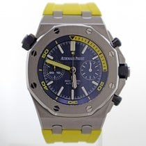 Audemars Piguet Steel Automatic Blue Arabic numerals 42mm new Royal Oak Offshore Diver Chronograph