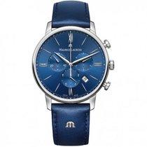 Maurice Lacroix Stahl 40mm Quarz EL1098-SS001-410-1 MAURICE LACROIX ELIROS CHRONOGRAPH 40 blu neu