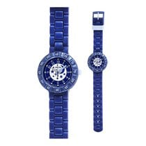 Flik Flak Wonderful Sky Blue Dial Plastic Strap Boy's Watch...